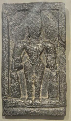 Stone Figure of 5th-7th Century CE found in Moghalmari. From Wikipedia