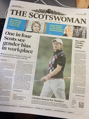 The Scotsman gets renamed The Scotwoman for one day only