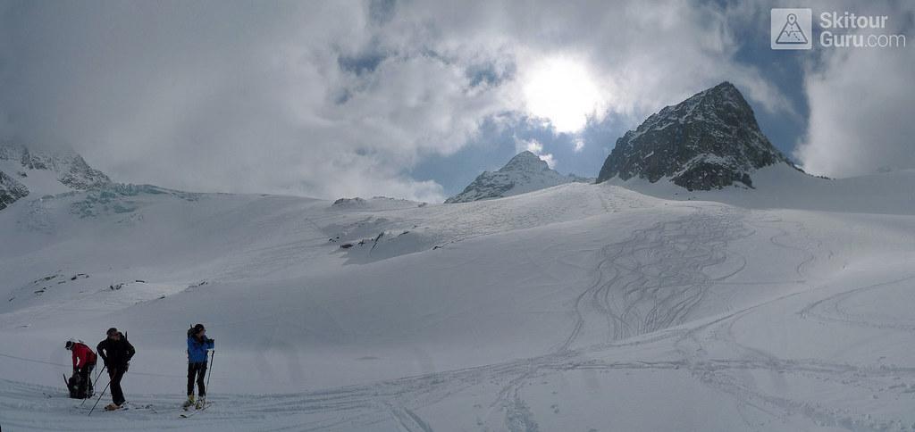 Ruderhofspitze NW (Franz Senn Hütte) Stubaiské Alpy Rakousko foto 05