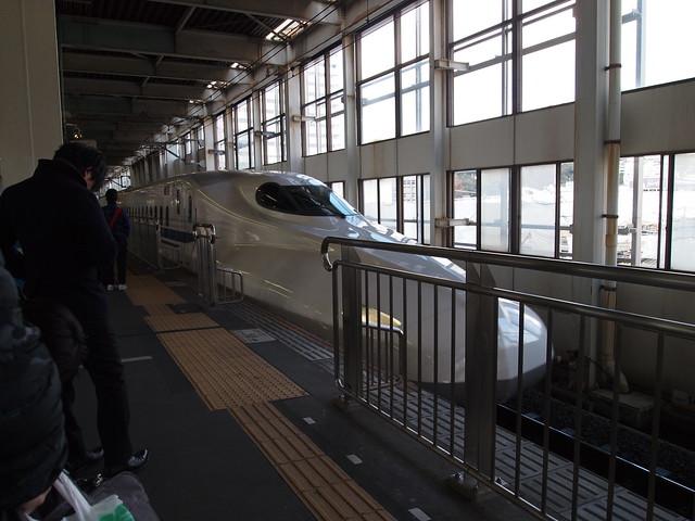 のぞみ24号@広島駅