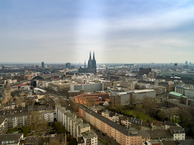 Köln Luftbild - cologne aerial