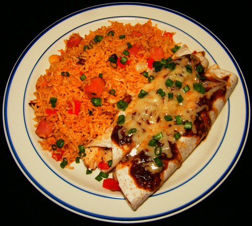 Lake Trout Enchiladas