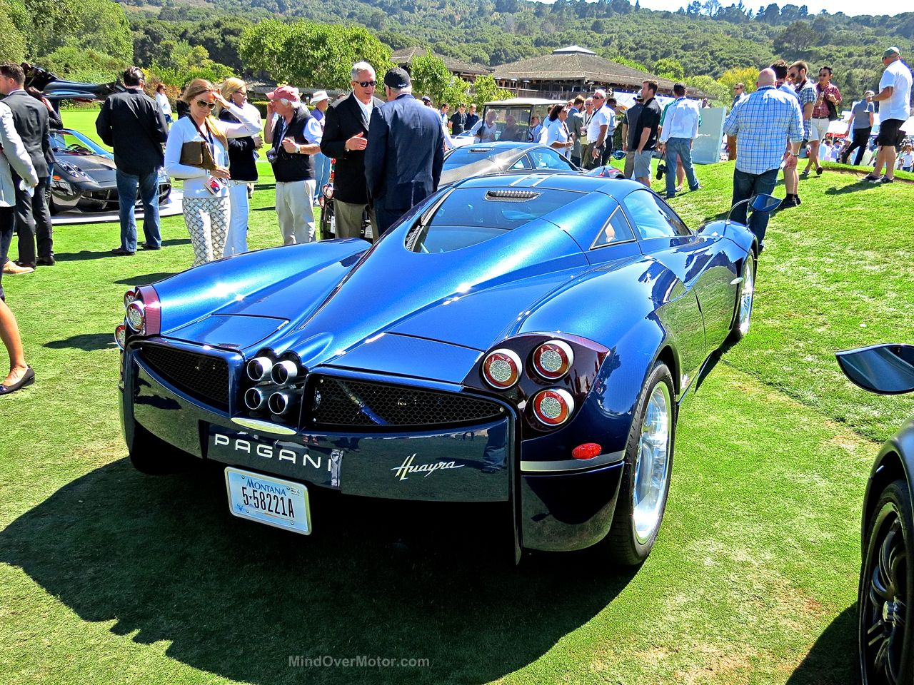 Pagani Huayra Blue Carbon The Quail 7