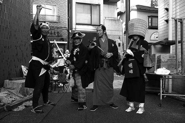 品川宿場祭りの写真