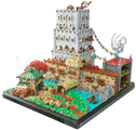 MOC - Defence Tower (Based on Warcraft) 25173931585_0ac8babac5_o