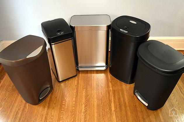 los mejores contenedores de basura metalicos