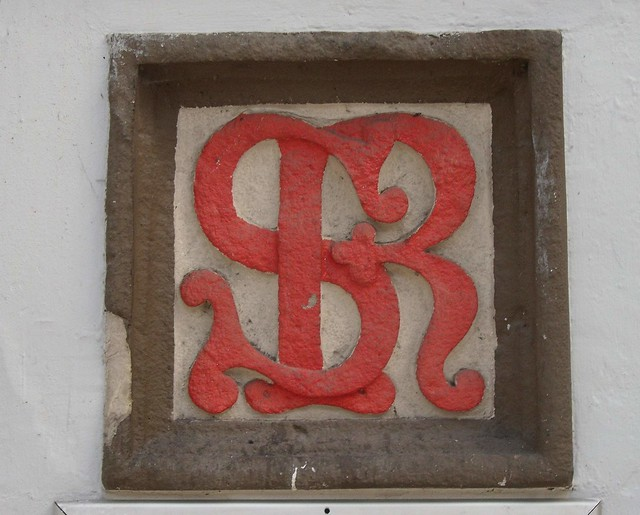 Sutherland Railway monogram at Inverness Railway Station Inverness Scotland