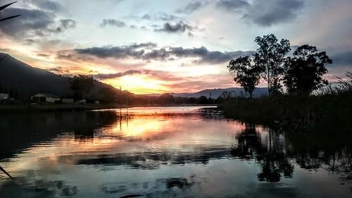 Vacy sunset