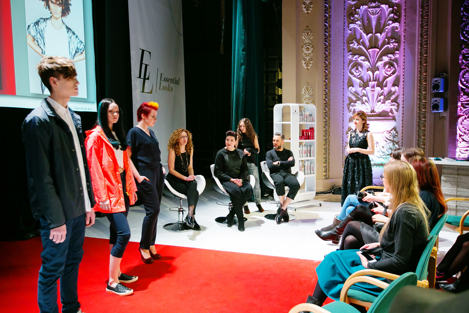 Schwarzkopf Professional Made to create event
