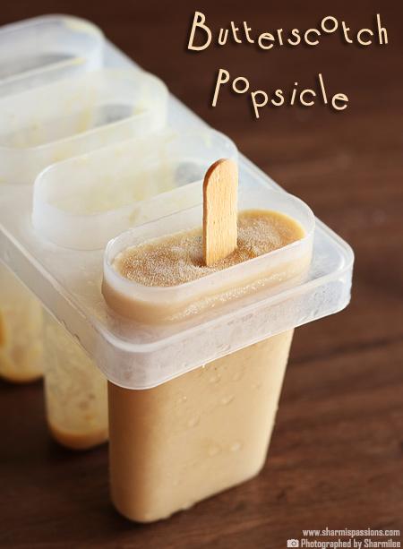 Butterscotch Pudding Popsicle Recipe