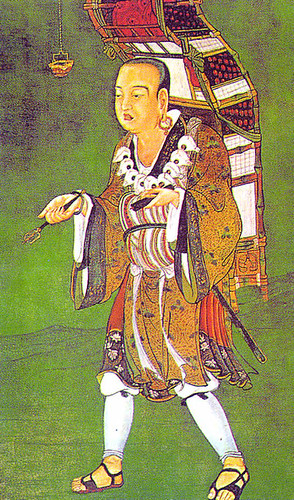 Xuanzang (Hsuan-tsang) - Chinese Buddhist Monk. Photo from Epic Word History