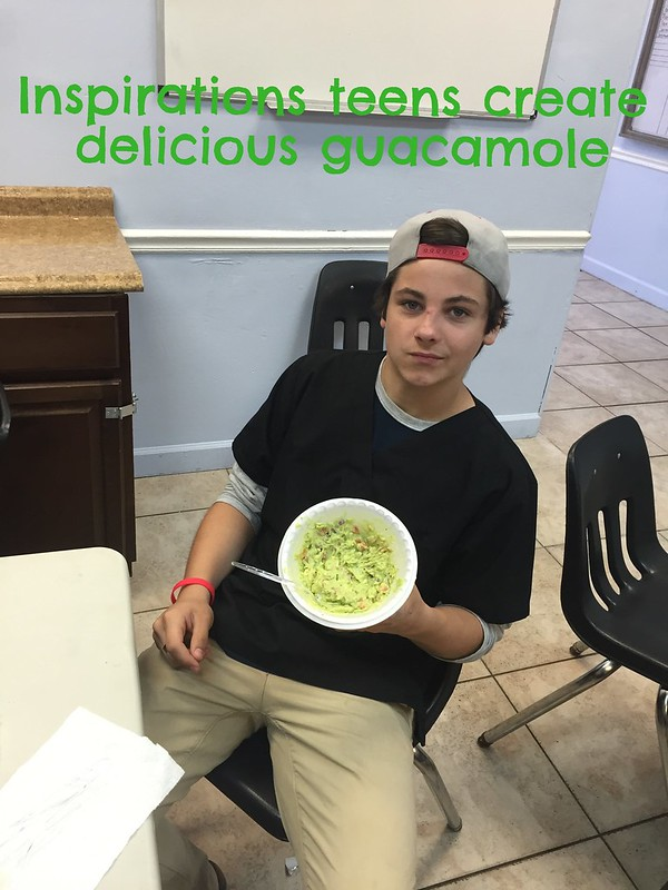 Teens in rehab learn to create delicious guacamole! thumbnail