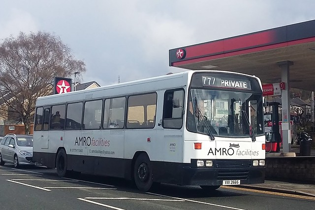 Amro Facilities Leyland Tiger VXI2665