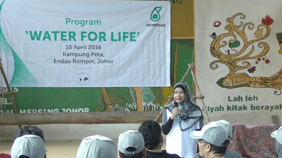 Water For Life Petronas Dagangan di Kg Peta