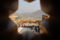 View of the Amer Fort from Inside