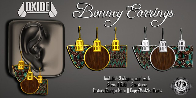 OXIDE Bonney Earrings