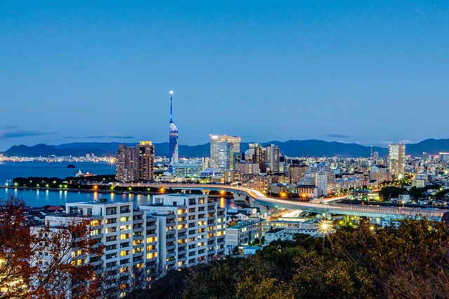 Fukuoka tower : HDR
