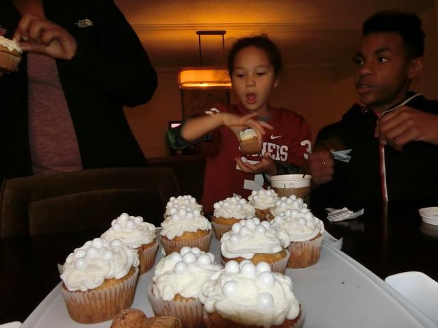 Bubbly Cupcakes