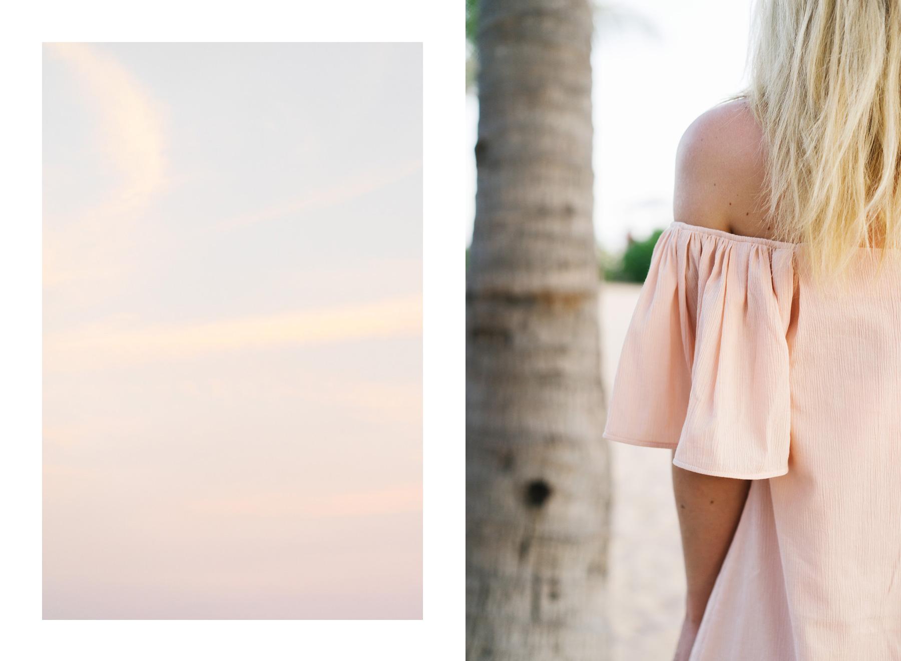 Pastel pinks in Bali