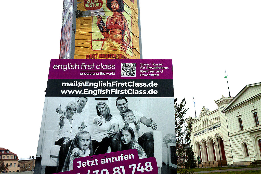 english first class--Leipzig