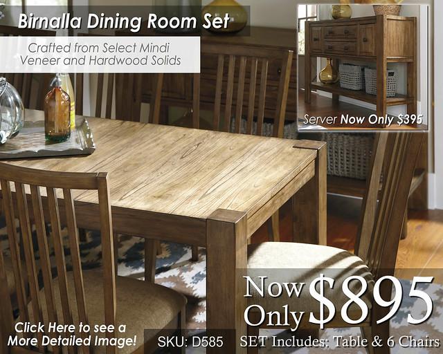 Birnalla Dining Set