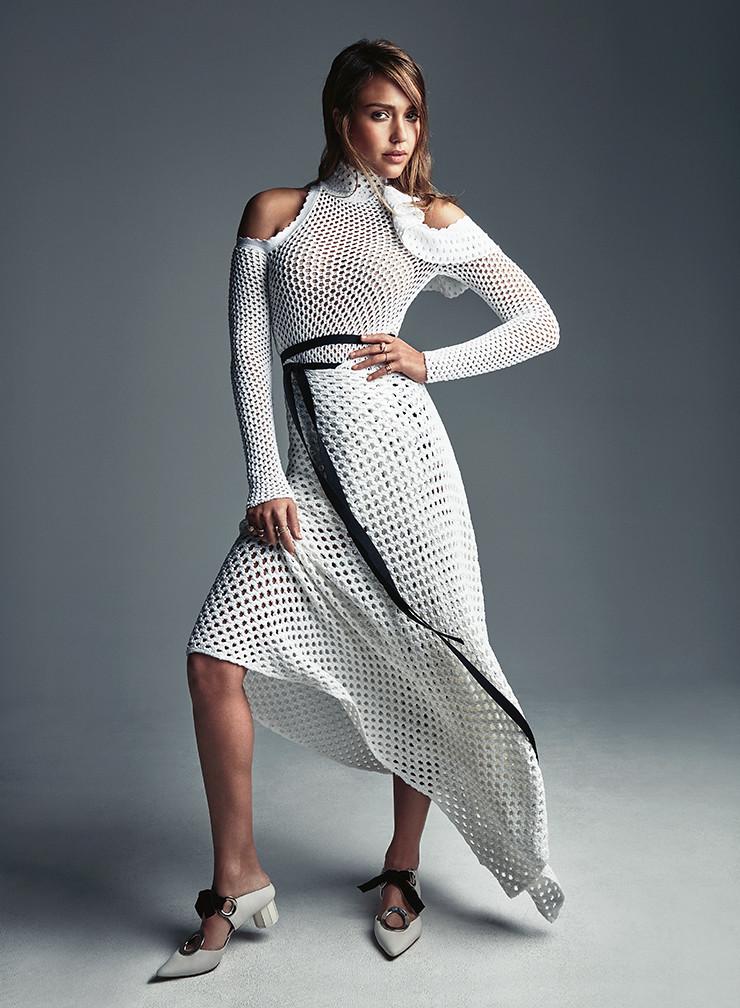Джессика Альба — Фотосессия для «Vogue» AU 2016 – 1