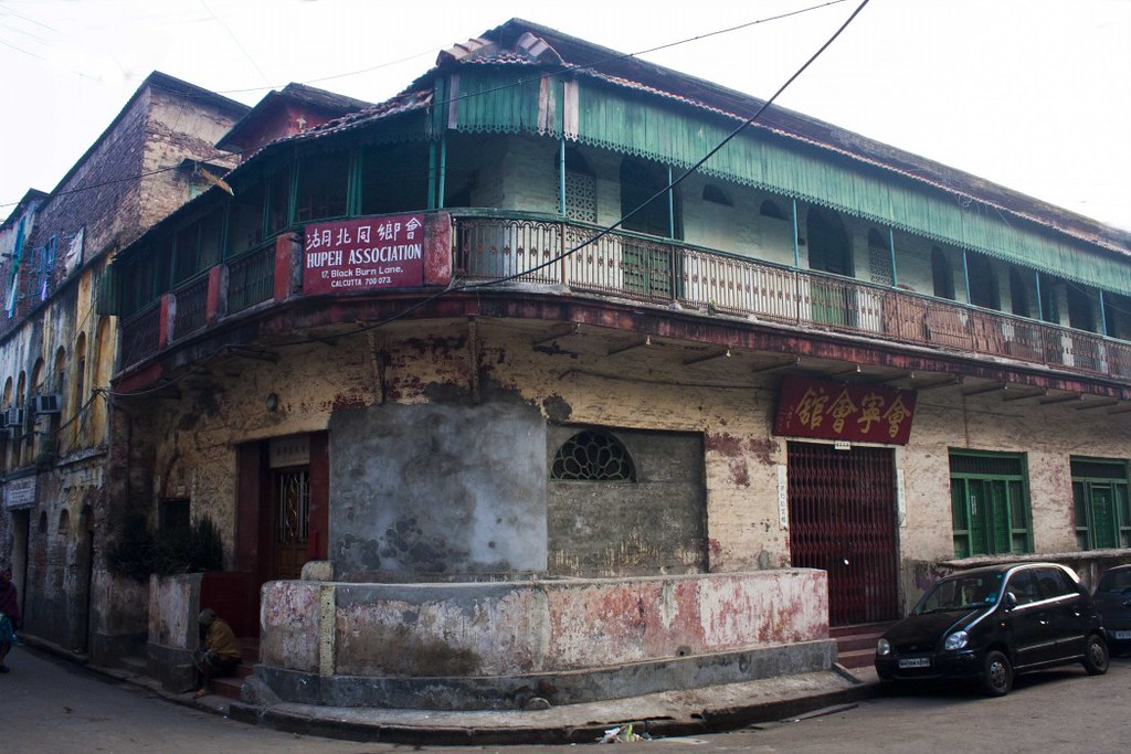 Sea Voi Yune Leong Futh Chinese Church in Tiretta Bazar, Kolkata, India