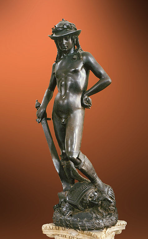 Donatello- bronze statue of David