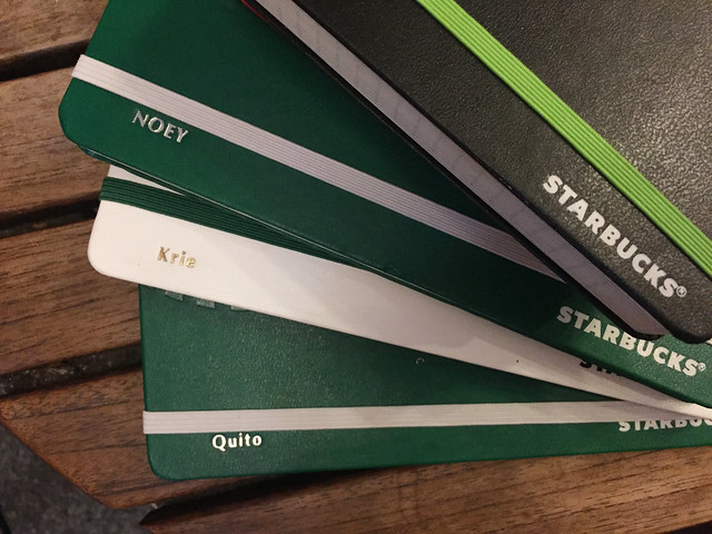 Patty Villegas - Starbucks Moleskine Weekly Planner 2016 -13