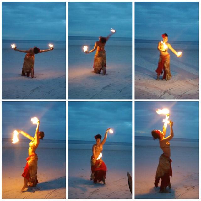 Fire Dancer at Marco Island Marriott photo credit: SouthFloridaFoodandWine.com