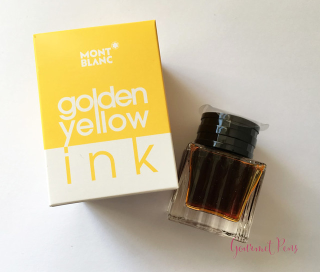 Ink Shot Review Montblanc Golden Yellow @AppelboomLaren @Montblanc_World (1)