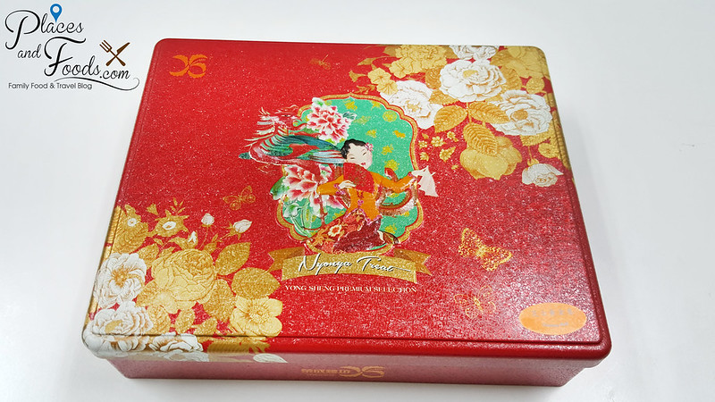 yong sheng cny cookies cheese rolls tin