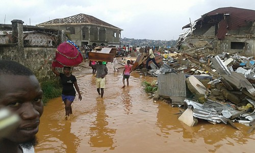 flood sierraleone disaster westafrica freetown 365disasters