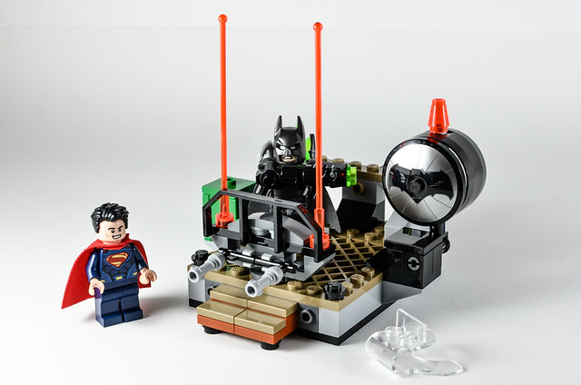 Review LEGO 76044 DC Comics Clash of the Heroes 14