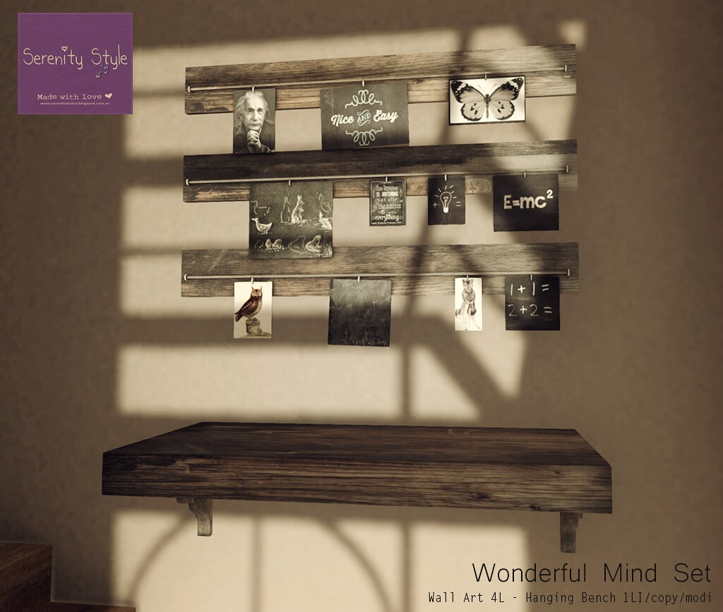 Serenity Style- Wonderful Mind Set