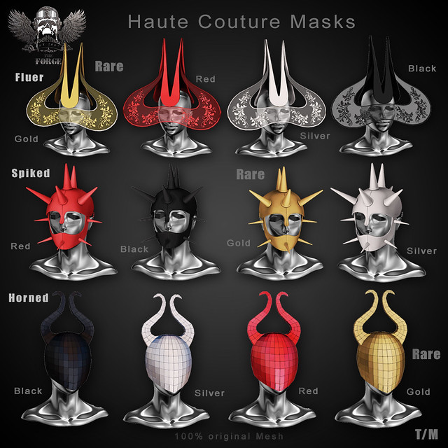 Forge Haute Couture Masks