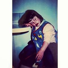 Blast from my past #oldschool #childhood #teatime #photo
