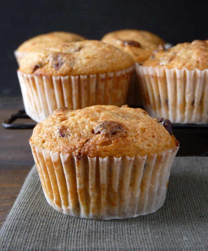 Whole Wheat Cranberry-Orange Muffins