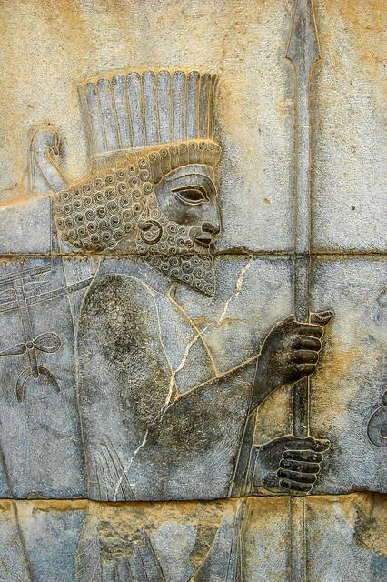 Achaemenid Infantry, Persepolis