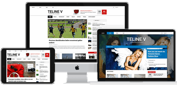 JoomlArt JA Teline V v1.0.8 - Template For Joomla 3.x