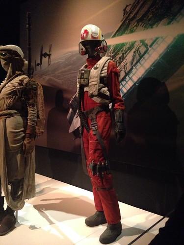 Jessika Pava's Flight Suit