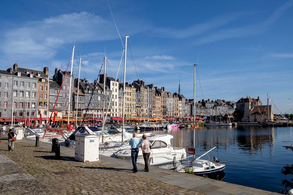 Normandie (France) - Honfleur: Vieux Bassin