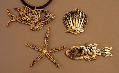 Quilled Sea Creatures