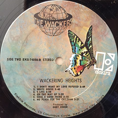 THE WACKERS:WACKERING HEIGHTS(LABEL SIDE-B)