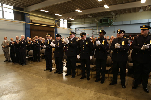 DEP Police Promotion and Retirement Ceremony, February 2016