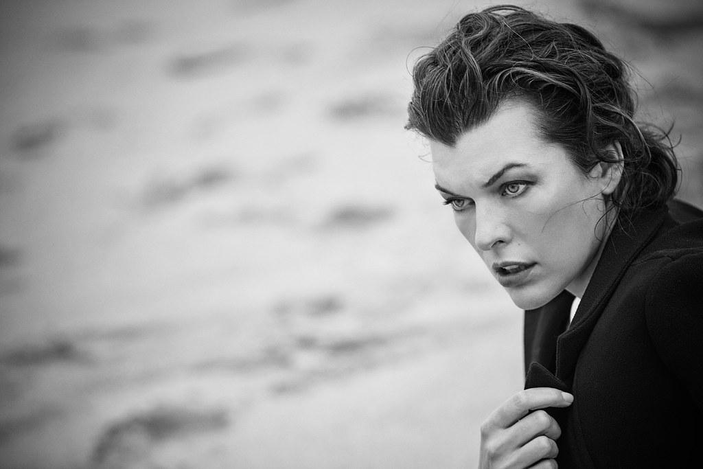 Милла Йовович — Фотосессия для «Harper's Bazaar» ES 2016 – 2