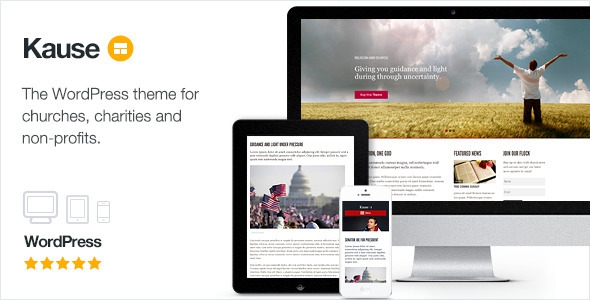 Themeforest Kause v1.0.40 – Multi Purpose WordPress Theme
