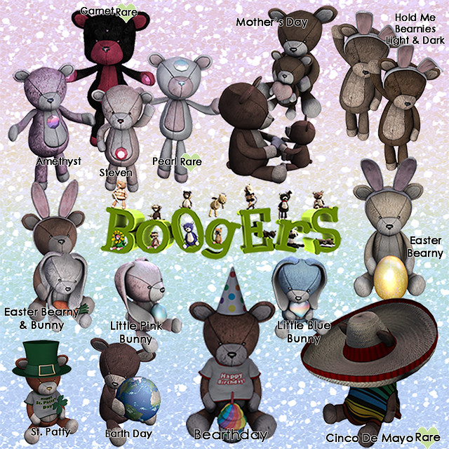 Boogers Arcade March Bears 2015 Guide Art