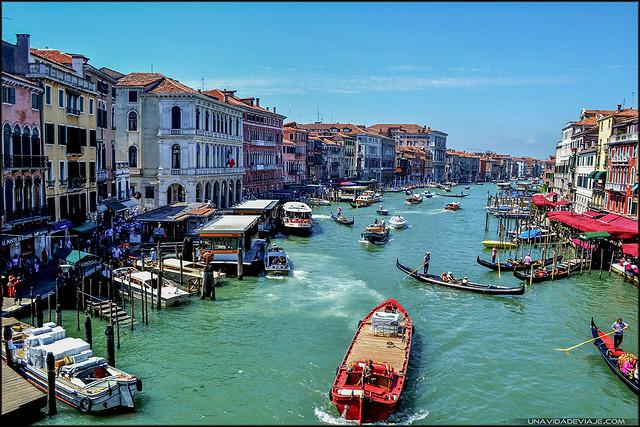 Venecia canal Rialto