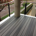 DuraLife Siesta decking in Garapa Grey